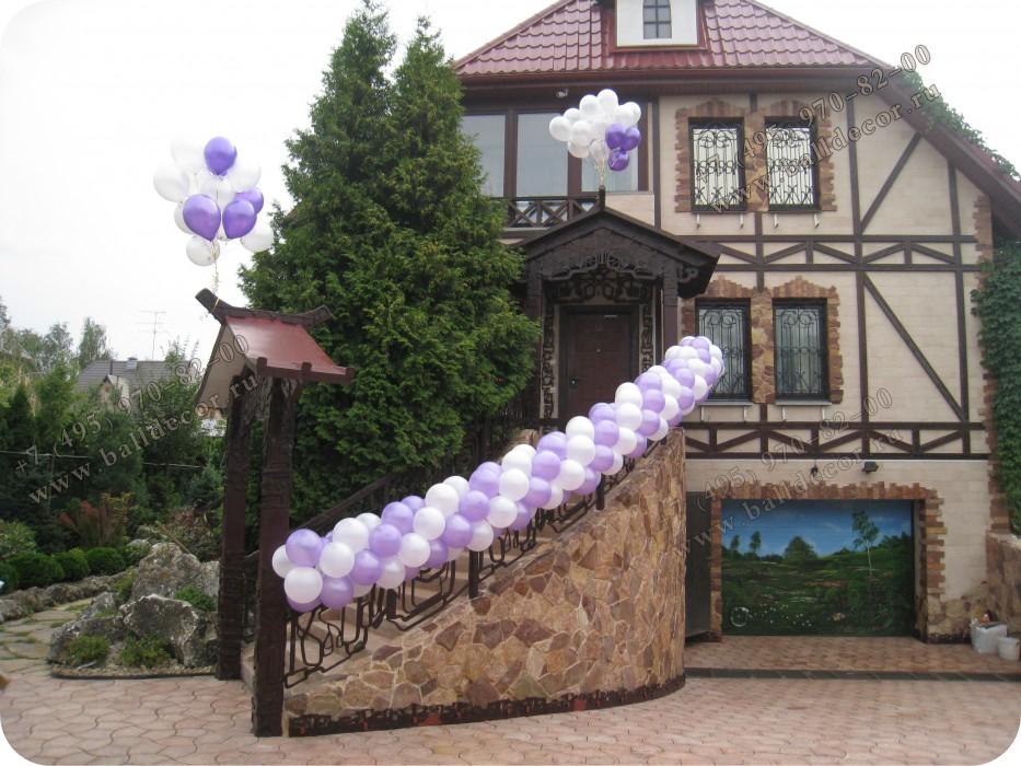 Украсить частный дом своими руками из