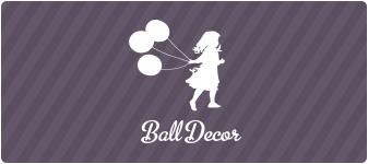 Украсить свадьбу шарами - BallDecor